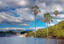 Die Lagune von Canaima im gleichnamigen Nationalpark ist ein wahrlich märchenhafter Ort, der zu den schönsten Plätzen Venezuelas zählt - © Alice Nerr / Shutterstock