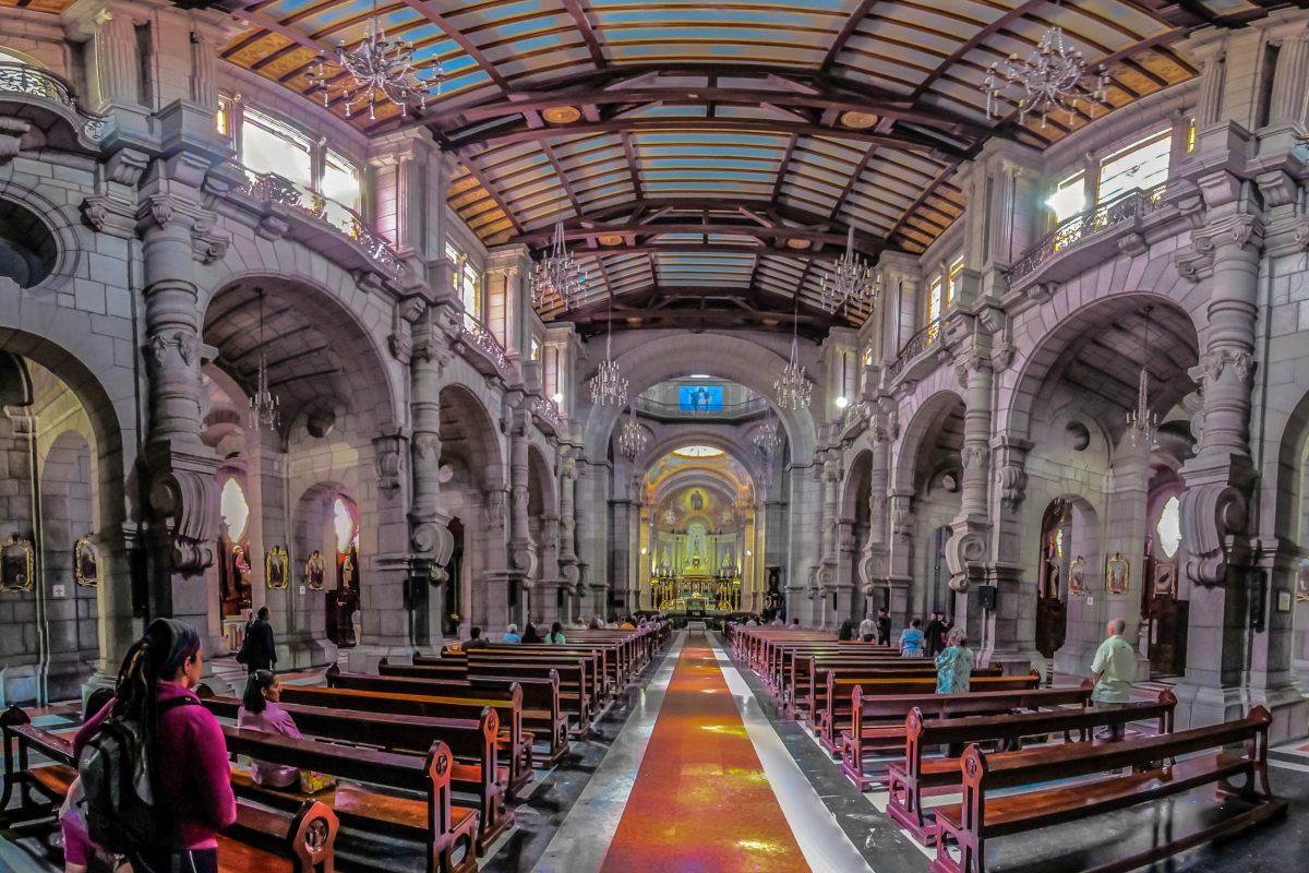 """Die barocke Catedral de Mérida dominiert die Westseite des Plaza Bolivar in Venezuelas """"Stadt in den Anden"""" - © The Photographer CC BY-SA3.0/Wiki"""