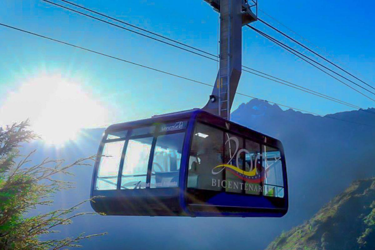 Im Jahr 2015 wurde die Teleférico de Mérida in Venezuela mit neuen Gondeln der österreichischen Firma Doppelmayr ausgestattet - © Jean Matheis CC BY-SA4.0/Wiki
