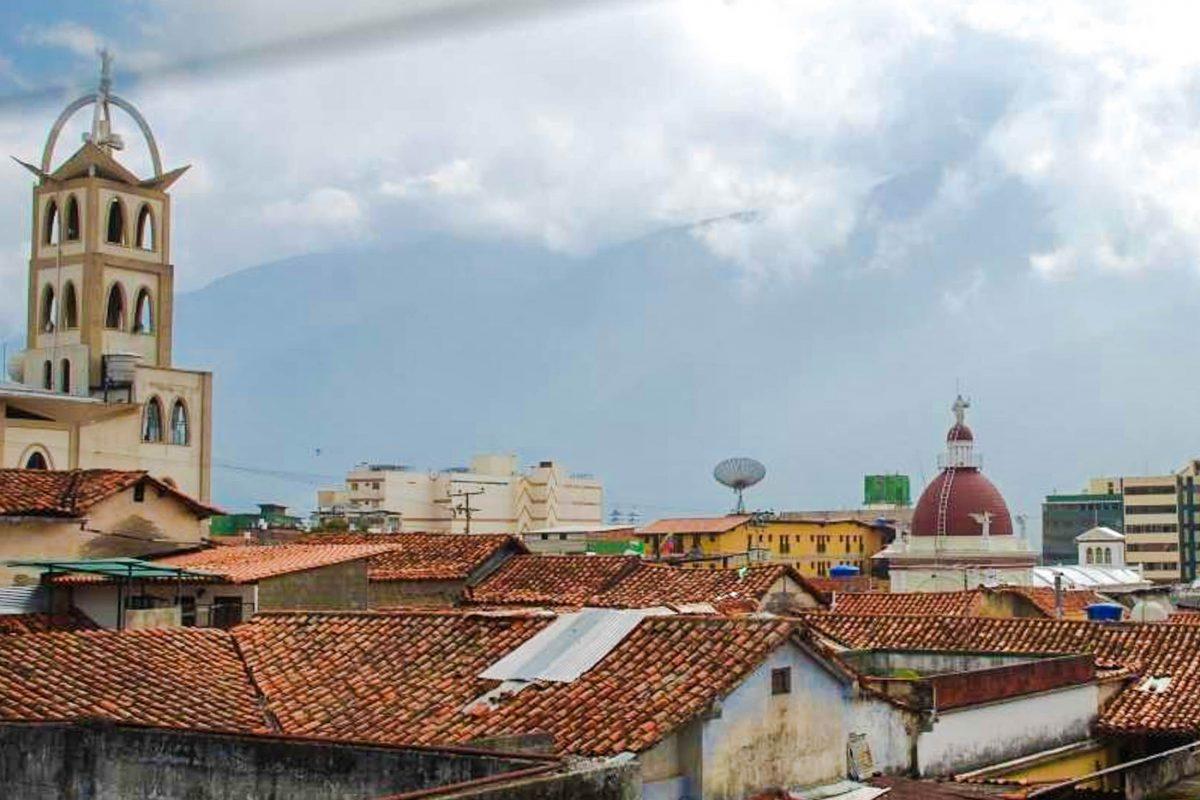 Mérida selbst liegt bereits auf 1630 Metern Seehöhe, doch mit der Teleférico de Mérida geht es noch ein ganzes Stück höher hinaus, Venezuela - © Sascha Grabow CC BY-SA3.0