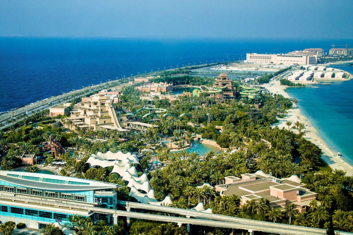 Bilder Palmeninsel Jumeirah Dubai Vae Franks Travelbox