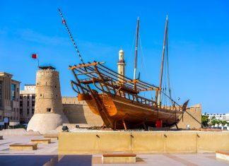 Das Dubai Museum befindet sich im imposanten al-Fahidi Fort im Zentrum der Stadt und präsentiert die Geschichte der Stadt, VAE - © Luciano Mortula / Shutterstock