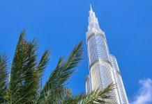 Der Burj Khalifa beherbergt auch das weltweit erste Armani-Hotel, Büroräumlichkeiten, Suiten und im 124. Stock eine Aussichtsplattform, Dubai, VAE - © FRASHO / franks-travelbox