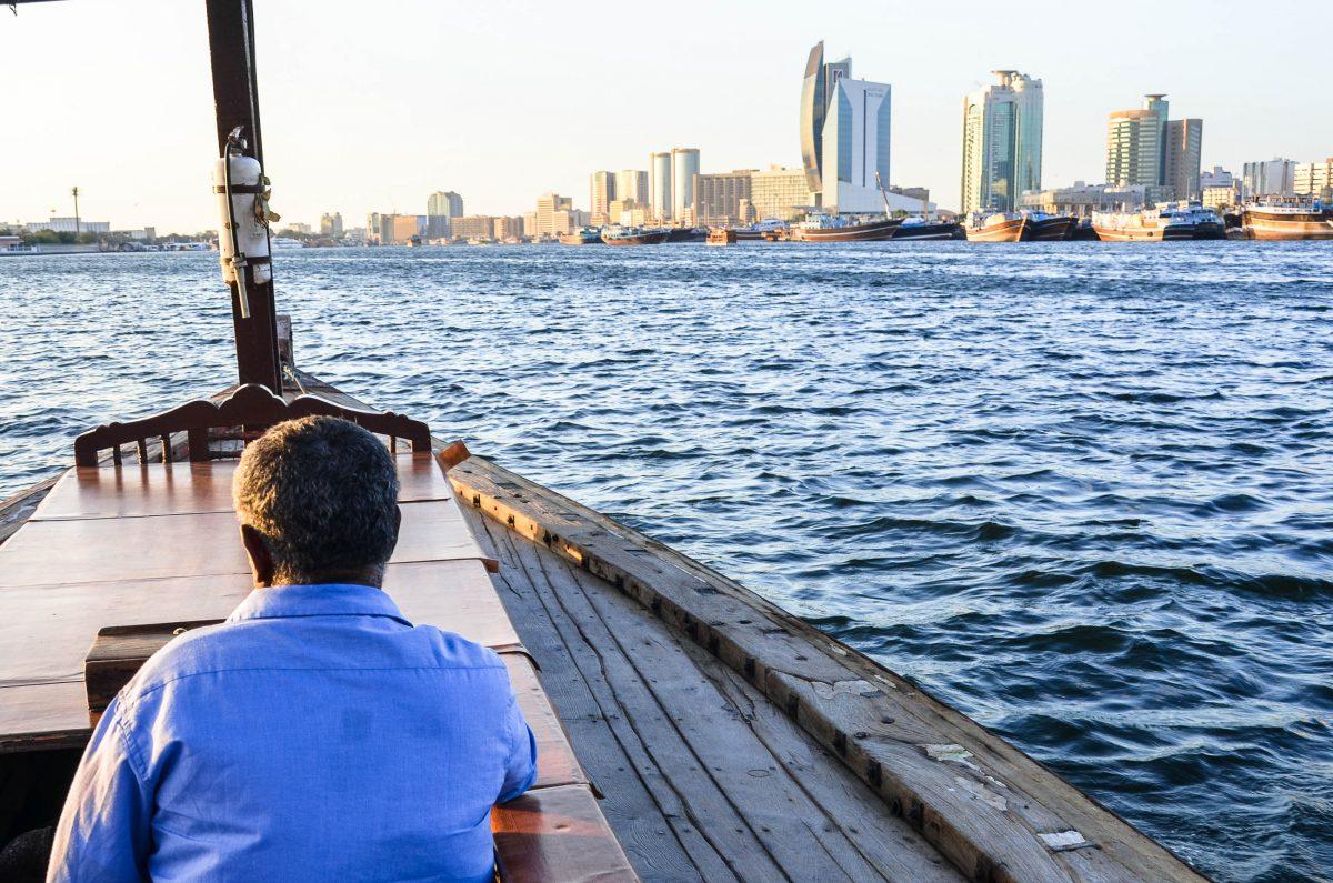 Eine Fahrt mit einer Dhau am Dubai Creek, ein absolutes Muss für jeden Dubai-Besucher, VAE - © FRASHO / franks-travelbox