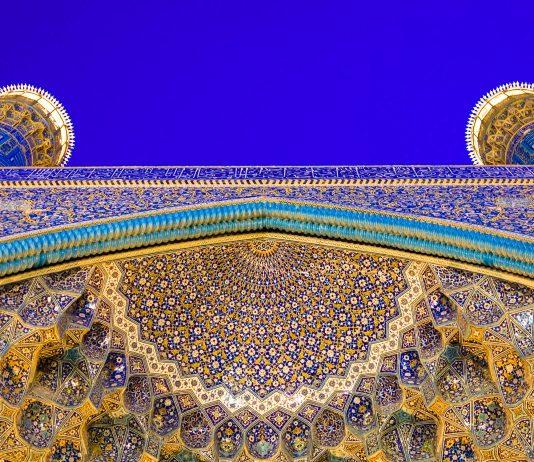 Architektonische Details der Imam Moschee in Isfahan, Iran - © javarman / Fotolia