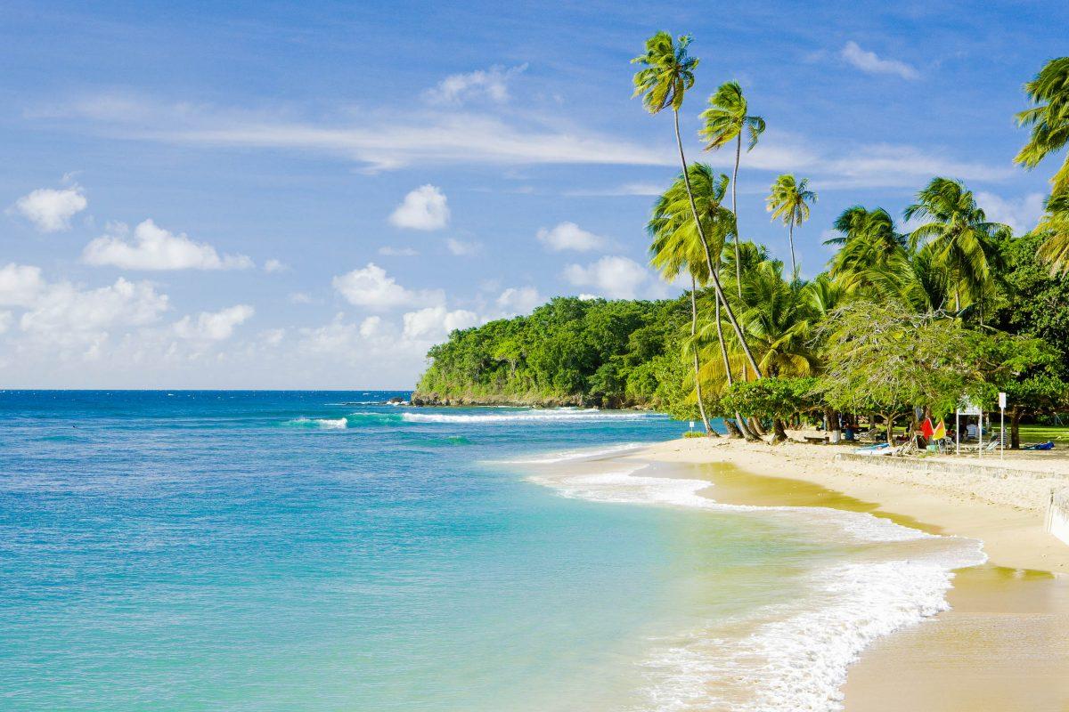 Mount Irvine Bay mit guter Infrastruktur und Wasserportmöglichkeiten, Tobago - © PHB.cz (Richard Semik) / Shutterstock