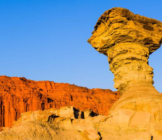 Sandsteinformation im  Nationalpark Ischigualasto, Argentinien - © Eduardo Rivero / Fotolia