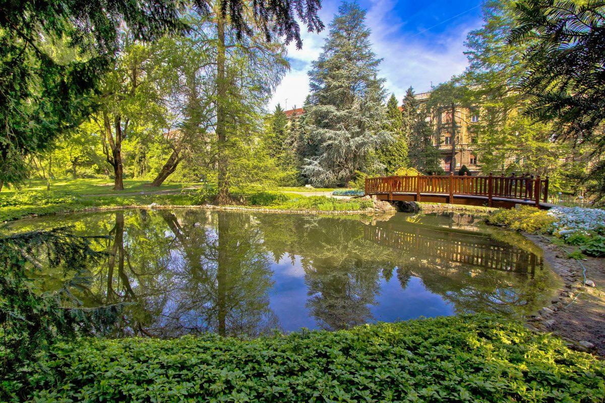 Der Botanische Garten von Zagreb beeindruckt seine Besucher bei freiem Eintritt mit einer Vielfalt an heimischen und exotischen Pflanzen, Kroatien - © xbrchx / Shutterstock