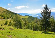 Die kurvenreiche Goldeck Panoramastraße beim Ort Zlan zählt zu den schönsten Aussichtsstraßen im Süden Österreichs - © FRASHO / franks-travelbox