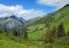 Der idyllische Hochtannbergpass in Vorarlberg, Österreich, liegt inmitten eines malerischen Hochtals - © FRASHO / franks-travelbox