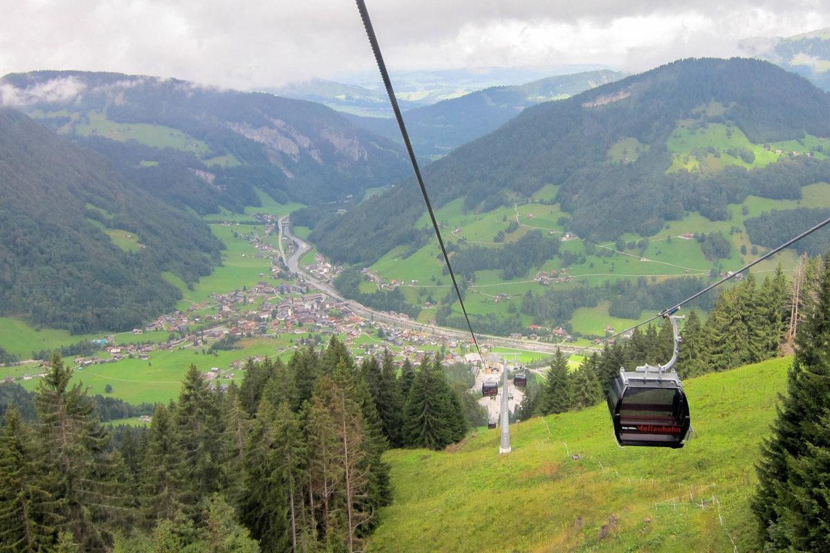 Mellaus 2.044m hoher Hausberg ist dank der Mellaubahn auch mit geringer Anstrengung zu erreichen, Österreich - © FRASHO / franks-travelbox