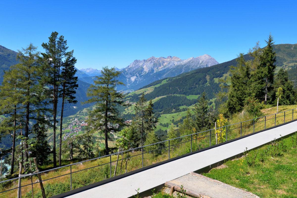 Auf dem 30km langen Kaunergrat im gleichnamigen Naturpark in Tirol, Österreich sind der Seekogel, die Watzespitze, die Verpeilspitze und die Rofelewand die markantesten Gipfel - © FRASHO / franks-travelbox