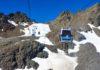 Mit der Karlesjochbahn geht es dann ganz bequem bis zum eindrucksvollen Dreiländerblick im Tiroler Kaunertal auf über 3.000 Metern Höhe, Österreich - © FRASHO / franks-travelbox