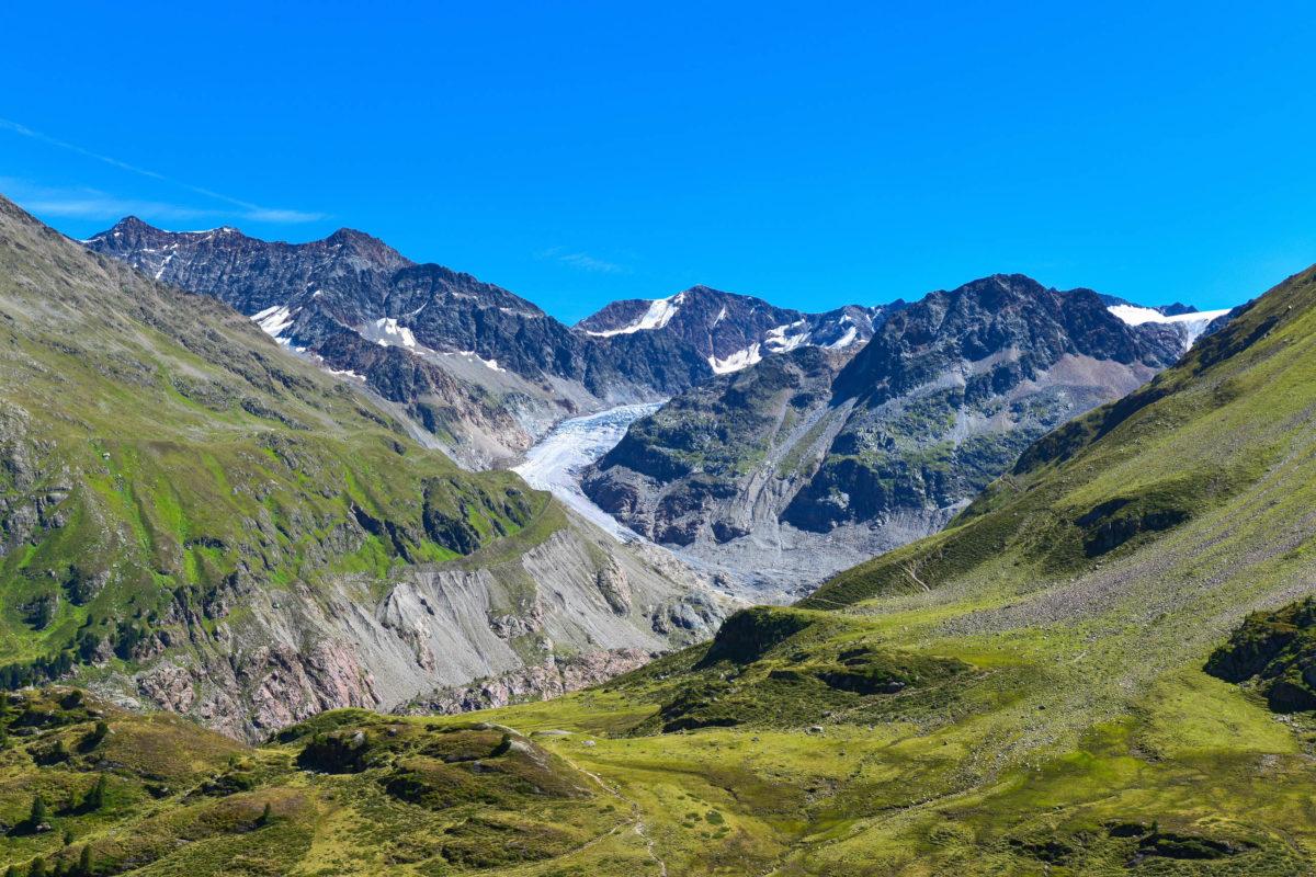 Seit dem Rückzug des Kaunertaler Gletschers liegt an der Kaunertaler Gletscherstraße in Tirol, Österreich, eine faszinierende Naturlandschaft - © FRASHO / franks-travelbox