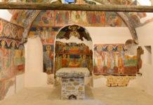 Die Wandmalereien in der Kirche des Hl. Georg in Arbanasi, Bulgarien, stammen laut Infotafel an der Kirche vom Lehrer Christo und seinem Gehilfen Stoju - © FRASHO / franks-travelbox