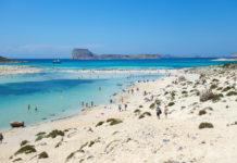 Als Natura-2000-Gebiet steht die Lagune von Balos im Westen von Kreta, Griechenland, unter Naturschutz und bewahrt damit ihre unbebaute Ursprünglichkeit - © FRASHO / franks-travelbox
