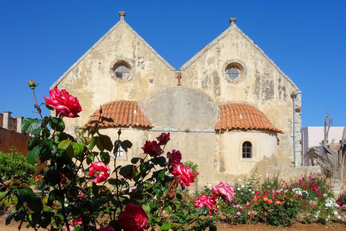 Das Arkadi-Kloster auf Kreta, Griechenland, ist eine der wichtigsten Stätten und Sehenswürdigkeiten der Griechen - © FRASHO / franks-travelbox