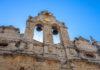 Die Renaissance-Kirche des Arkadi-Klosters auf Kreta, Griechenland, wurde außen von den italienischen Architekten Sebastiano Serlio und Andrea Palladio geschmückt - © FRASHO / franks-travelbox