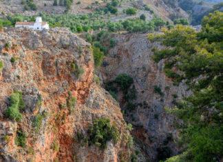 Die wenig bekannte aber spektakuläre Aradena-Schlucht liegt im Westen Kretas, Griechenland - © FRASHO / franks-travelbox