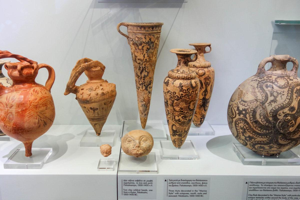 Die ältesten Exponate in Kretas Archäologischem Museum stammen aus dem 7. Jahrtausend vor Christus, Griechenland - © FRASHO / franks-travelbox