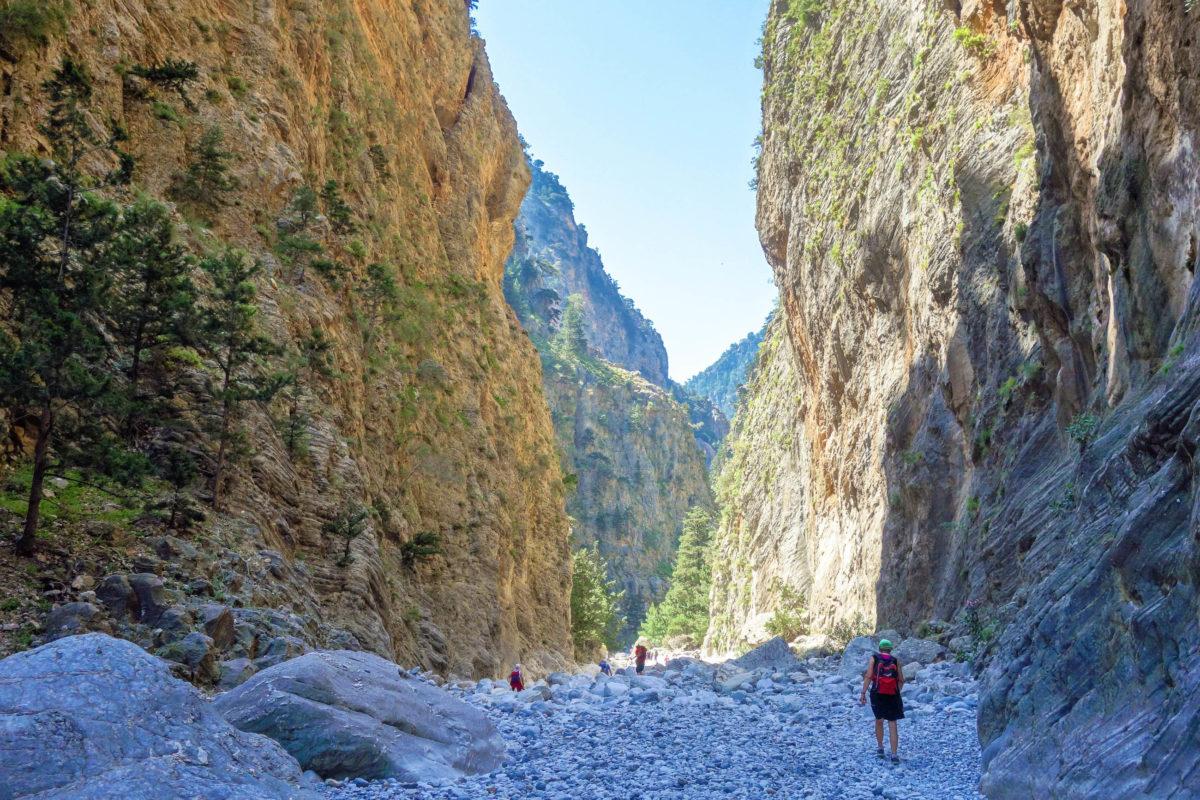 Wer in Griechenland auf Kreta Urlaub macht, kommt an der berühmten Samaria Schlucht nicht vorbei - © FRASHO / franks-travelbox