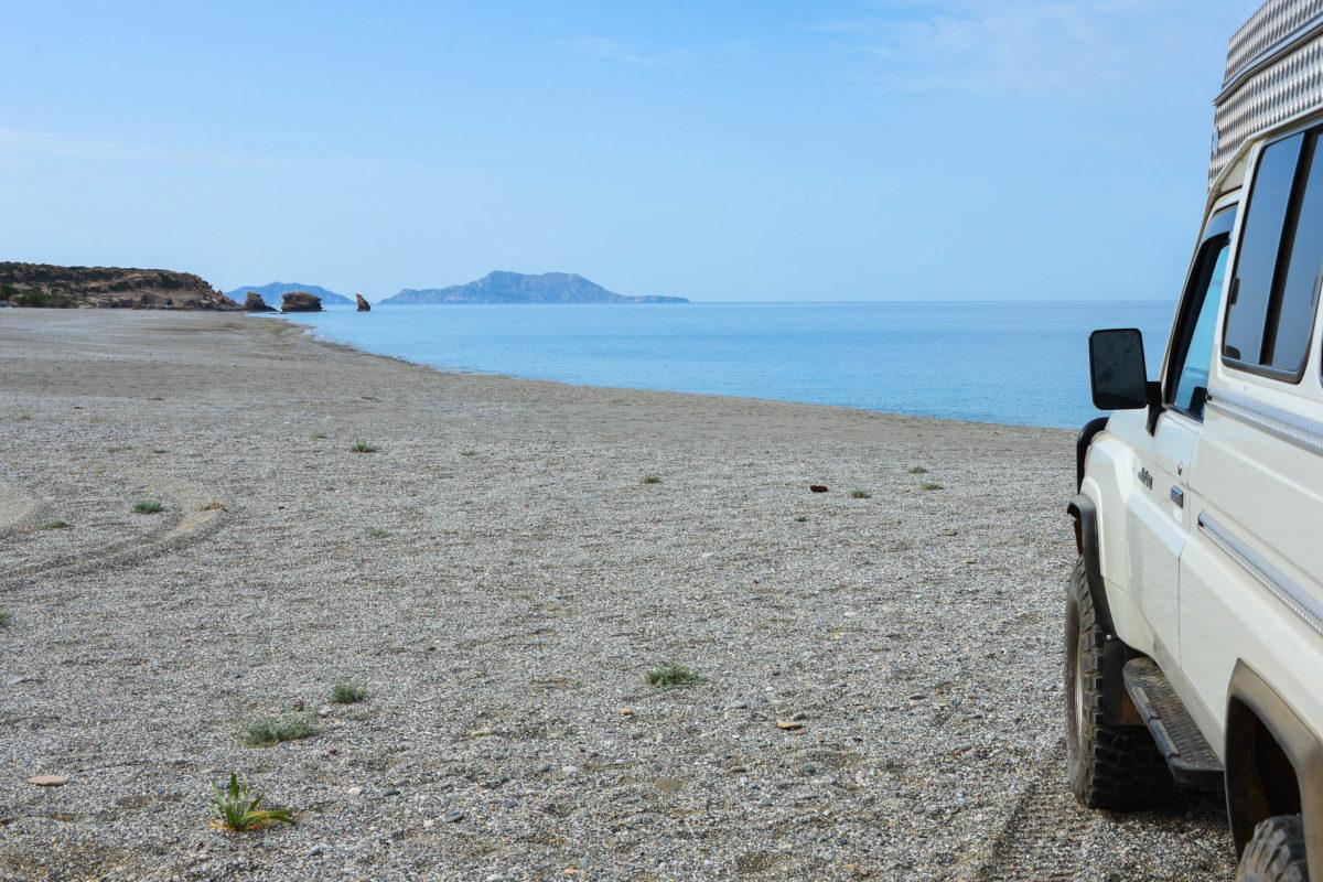 Der südliche Strand von Triopetra auf Kreta, Griechenland, ist noch weniger besucht als der nördliche - © FRASHO / franks-travelbox