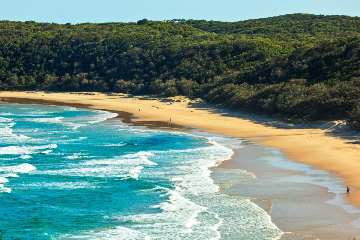Blick auf den Strand in der Alexandria Bucht bei der Ortschaft Noosa, Queensland, Australien - © StrangerView / Fotolia