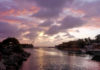 Der Meereskanal am Sea-Aquarium-Strand bei Sonnenuntergangl Curaçao - © Lila Pharao / franks-travelbox
