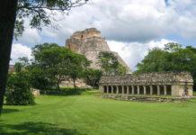 Das Haus des Leguans liegt am südlichen Vogelplatz und wurde vollständig restauriert, Uxmal, Mexiko - © Jessy / franks-travelbox.com