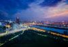 Panoramablick über Wien vom Donauturm, dem Wahrzeichen der Stadt und dem höchsten Gebäude Österreichs - © mRGB / Shutterstock