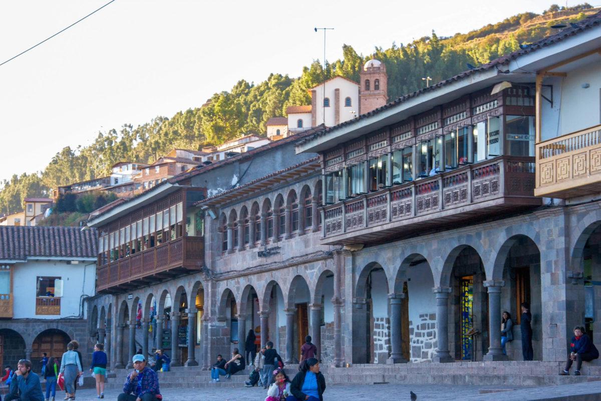 Die Architektur in der Altstadt von Cusco, Peru, gehört seit 1983 zum UNESCO-Weltkulturerbe und konnte sich ihren ursprünglichen Charme bewahren - © flog / franks-travelbox