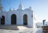 Auf dem Gipfel des Lykavittos, dem Hausberg von Athen, thront die schneeweiße Kapelle des Heiligen Georg, Griechenland - © James Camel / franks-travelbox