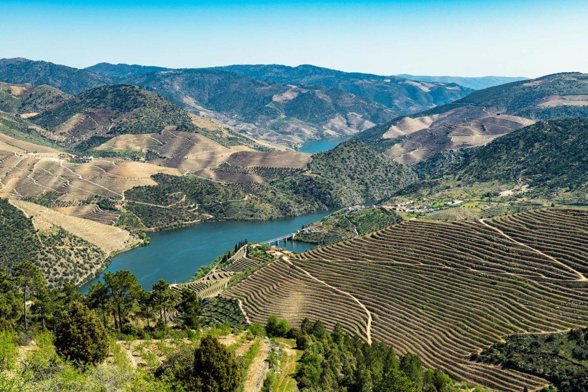 Nicht nur an der Grenze zweier Länder, sondern auch zwischen Natur- und Kulturlandschaft: Das Dourotal auf der iberischen Halbinsel - © homydesign / stock.adobe.com