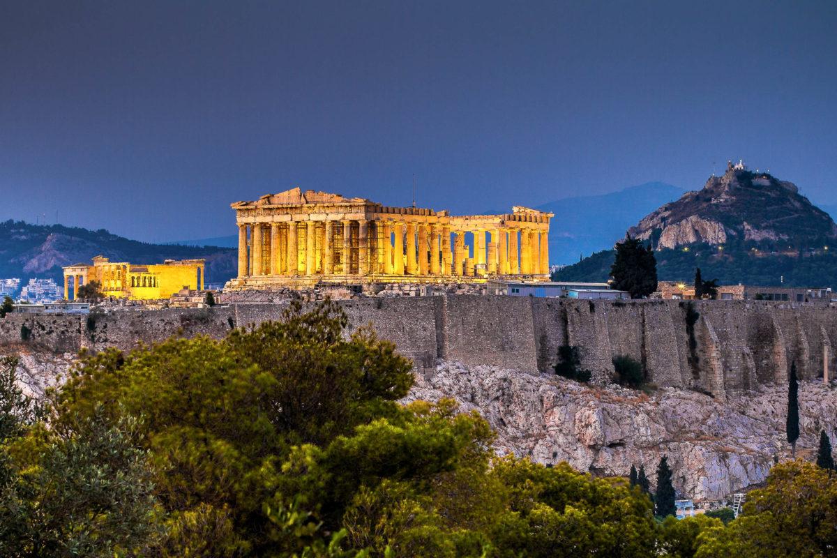 Das Parthenon in Athen während der Abenddämmerung, Griechenland - © Lambros Kazan / Shutterstock
