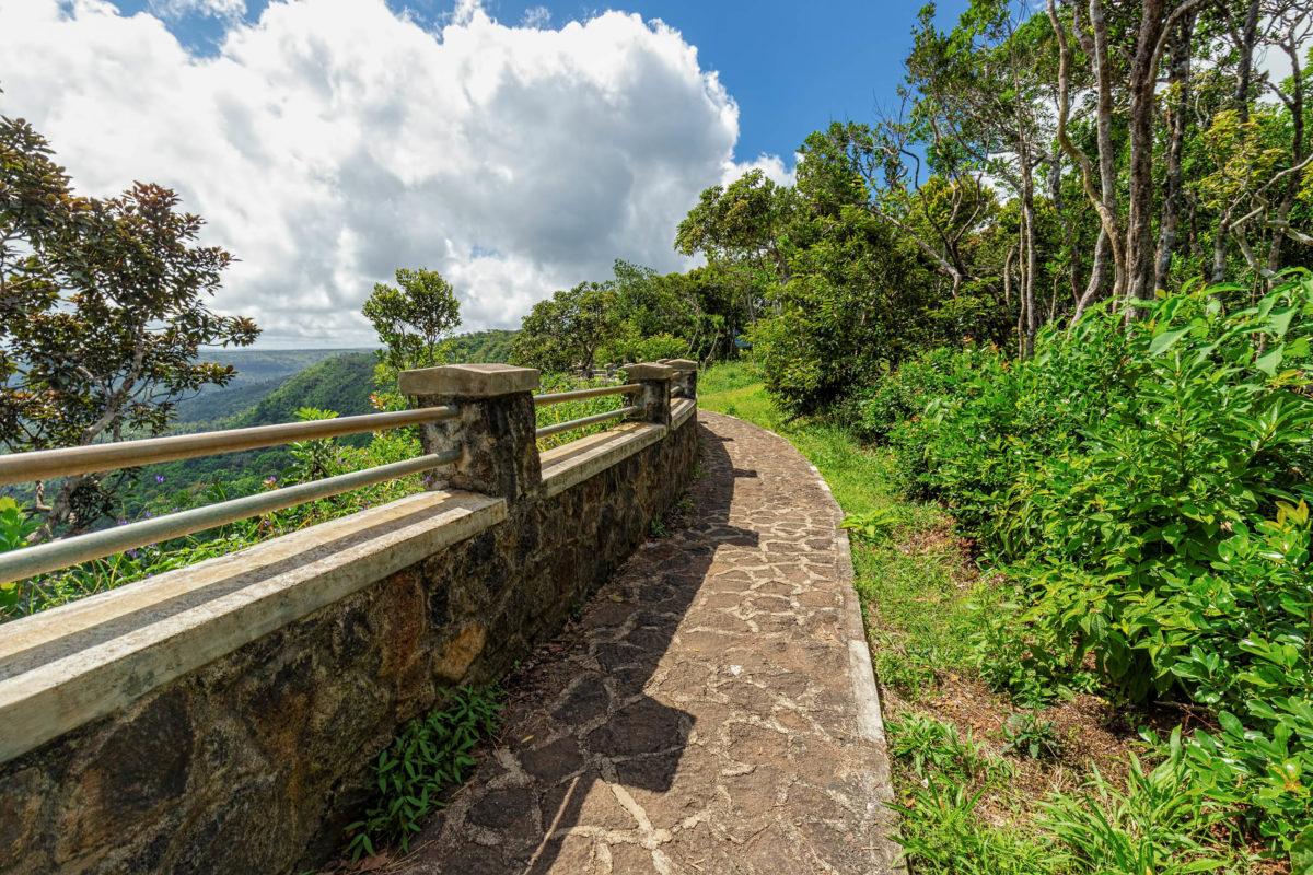 Spektakulärer Panoramablick über den atemberaubenden Regenwald von Mauritius vom Black River Gorges Viewpoint - © Michael Mantke / Shutterstock