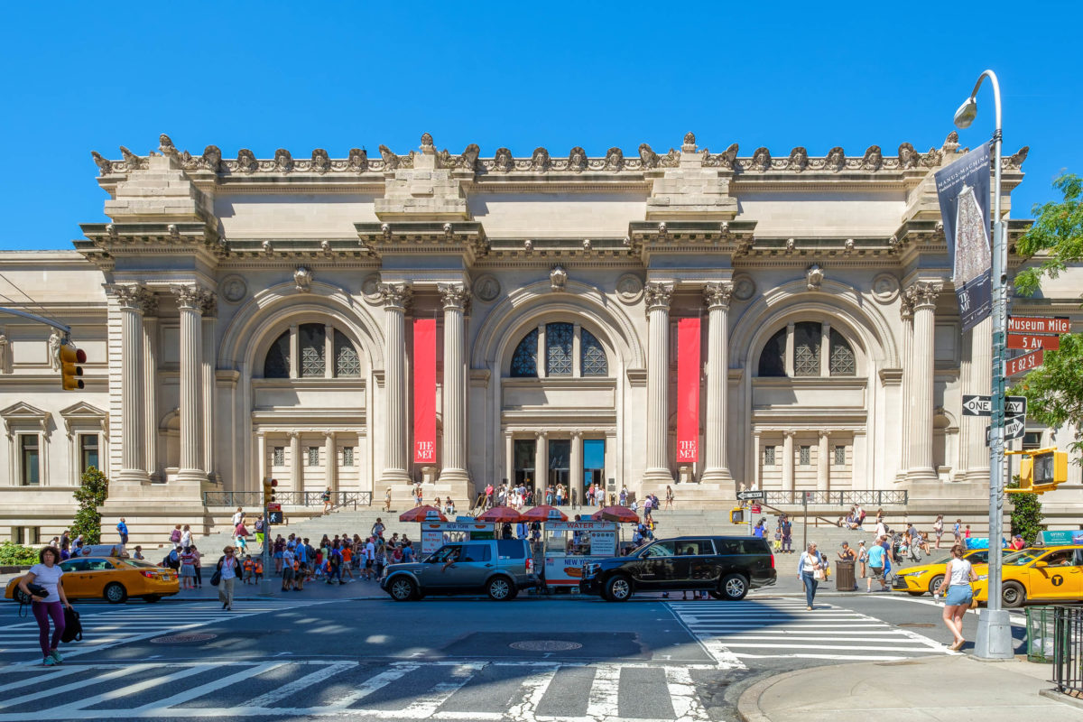 Das Metropolitan Museum of Art in New York ist das größte Kunstmuseum der USA und beherbergt zwei Millionen Ausstellungsstücke - © Kamira / Shutterstock