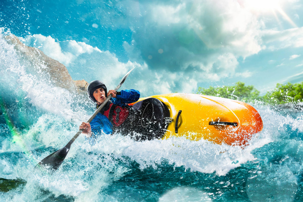Die Gewässerlandschaft in Deutschland bietet für Kayak-Touren Aussichten und Möglichkeiten, die mit norwegischen Fjorden durchaus mithalten können - © VIAR PRO studio / stock.adobe.com