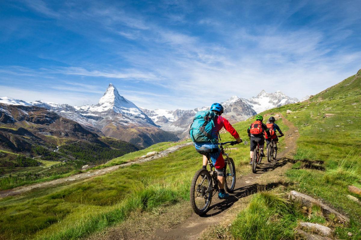 Mountainbike-Trails mit unterschiedlichen Anforderungen an die Biker finden sich fast überall in Deutschland - © eyetronic / stock.adobe.com