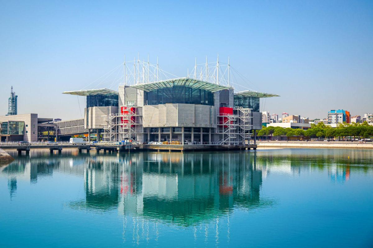 Das Oceanarium von Lissabon liegt im modernen Bezirk Parque das Nações und zählt zu den eindrucksvollsten Aquarien Europas, Portugal - © JeanLucIchard / Shutterstock