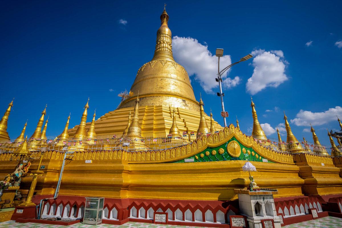 Die Shwedagon Pagode in Bago hält einen Rekord, mit 114 Metern ist sie die höchste Pagode von Myanmar - © Kaipungyai / Shutterstock