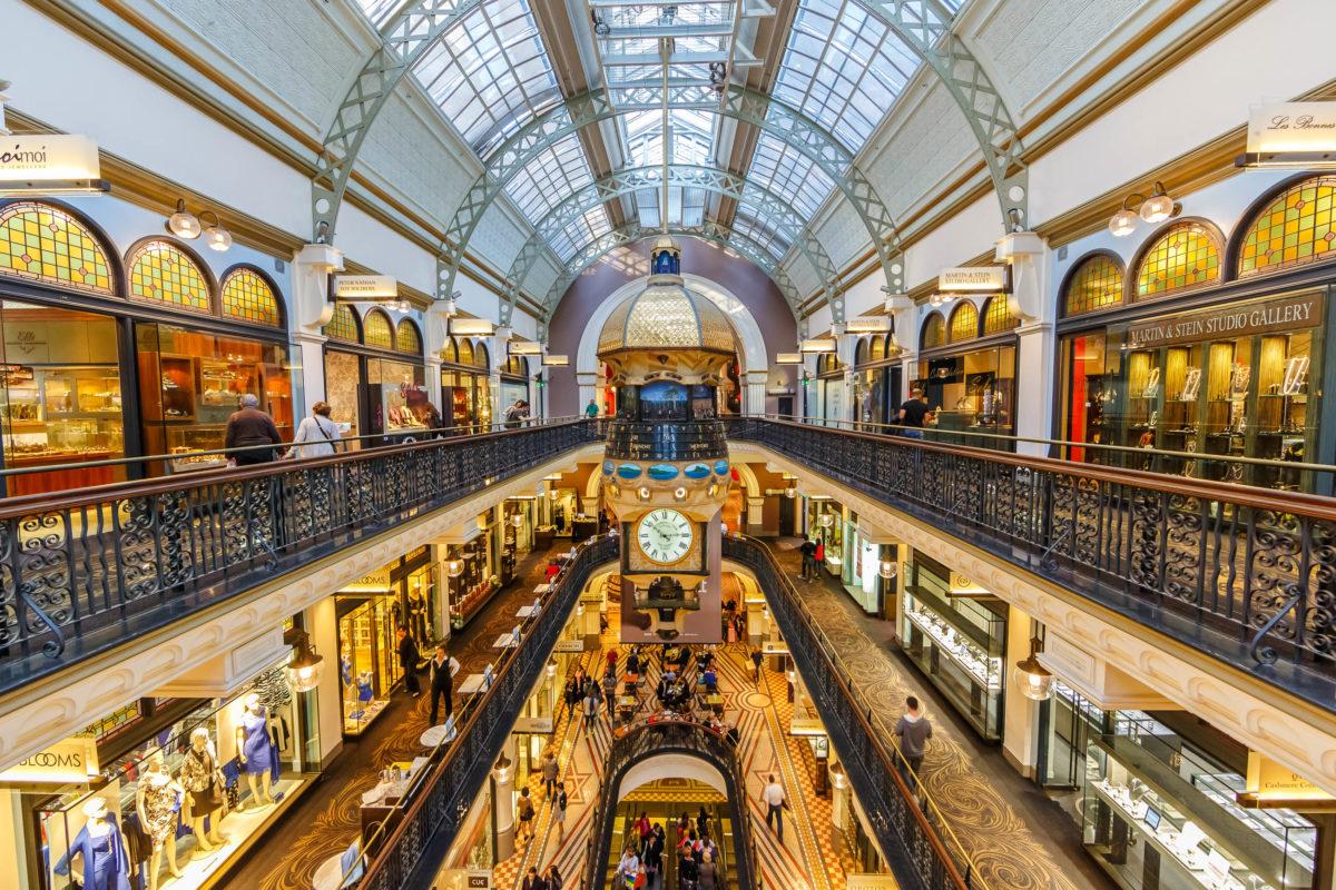 Das prächtige Queen Victoria Building ist das älteste und wohl auch schönste Einkaufszentrum von Sydney, Australien - © Tooykrub / Shutterstock