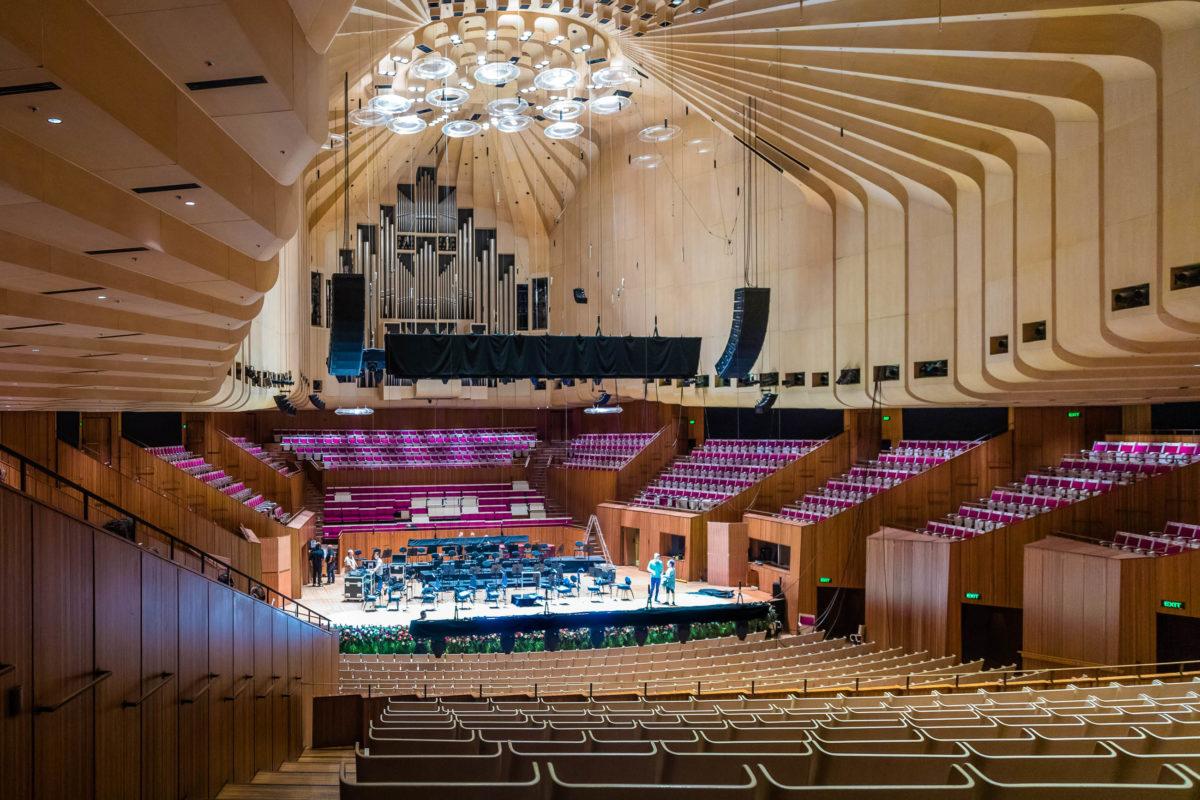 Innenansicht der Oper von Sydney, Australien - © Uwe Aranas / Shutterstock
