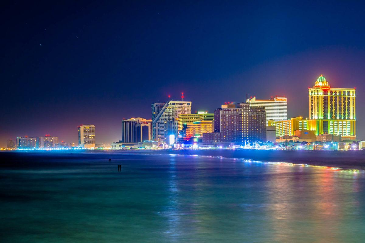 Die Geschichte der Stadt Atlantic City begann, als im Jahr 1854 das erste Hotel errichtet wurde, USA - © jonbilous / stock.adobe.com